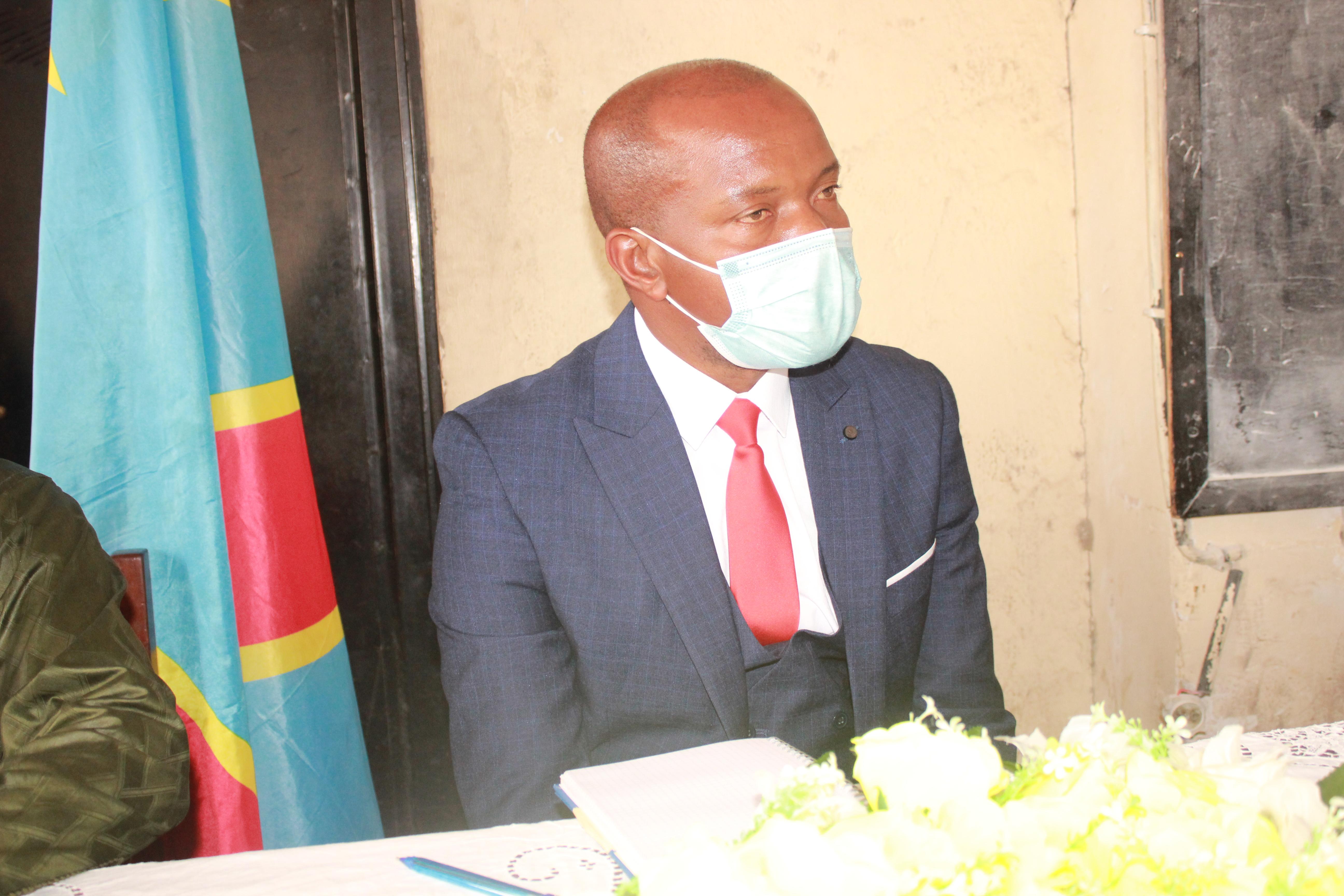 Le Recteur de l'Université de Goma, Professeur MUHINDO MUGHANDA
